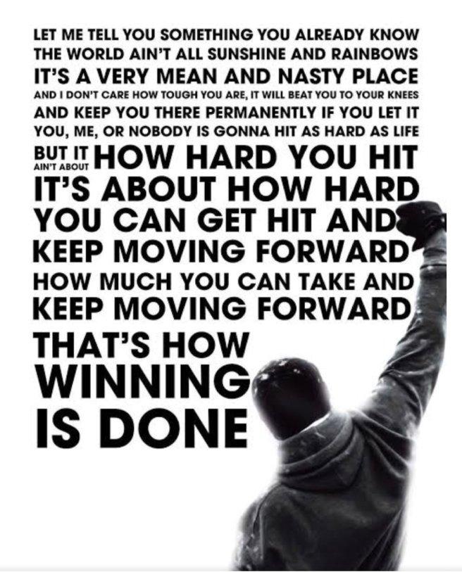 #rocky #balboa #adrian #boxing #win #motivation